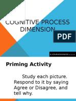 Cognitive Process Dimension - Jen&Ryan's Report