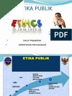 ETIKA PUBLIK