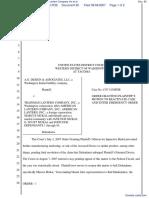 A G Design & Associates LLC v. Trainman Lantern Company Inc et al - Document No. 65