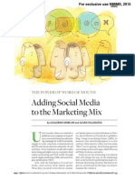 Adding Social Media to the Marketing Mix