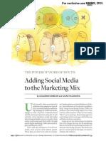 Adding Social Media to the Marketing Mix