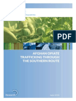 Afghan Opiate Trafficking Through the Southern Route - 2015