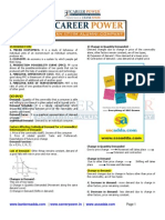 Ssc Cgl Economics Capsule 2015