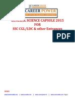 Science Capsule 2015