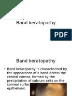 Band Keratopathy