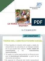 La Teoría Socioculturalista de Vigotsky