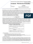 Security Reinforcement - Web Service Formation