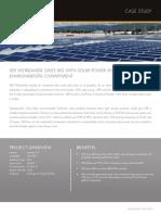 Cs Aer Worldwide Saves Big Solar Power Expands Environmental Commitment