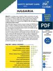 Bulgaria Report Card