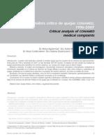 CONAMED-Análisis de Quejas 1996-2007