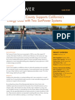 Contra Costa County Supports California's Energy Goal with Two SunPower Systems