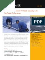 Shiseido saves over $100,000 annually with SunPower Solar Array