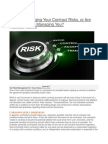 073015 Are You Managing Your Contract Risks