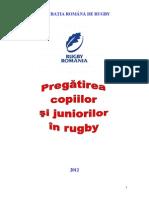 Pregatirea Copiilor Si Juniorilor in Rugby