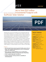 Del Monte Foods to Save $25 million and Reduce Environmental Footprint with SunPower Solar Solution