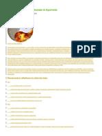 Cele Trei Tipuri Constitutionale in Ayurveda