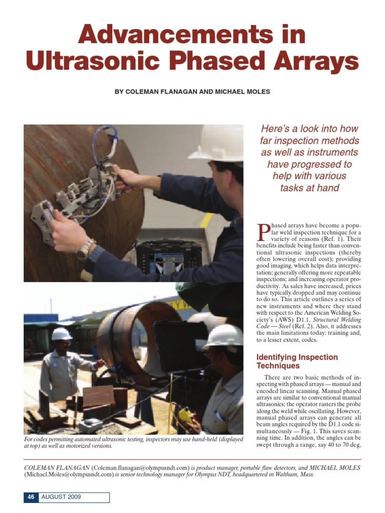 advancements in ultrasonic phased array pdf image scanner rh es scribd com