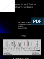 x-ray production and factors controlling x ray beams