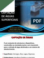 Captacao Superficial e Subterranea  de agua para abasteccimento