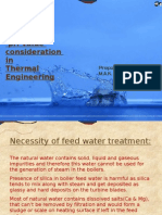 Water Impurities and pH Value