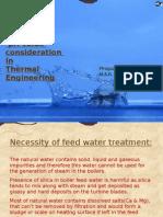 Water Impurities and pH Value