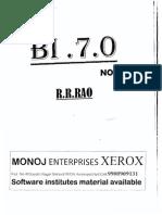 SAP BI notes