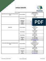 list of setas