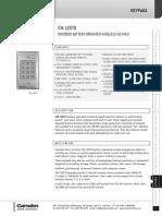 Camden 120TX Data Sheet