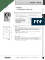 Camden 6030BL Data Sheet