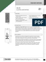 Camden CM-25-1-AB Data Sheet