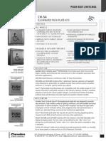 Camden CM-54SE2 Data Sheet