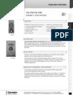 Camden CM-250E Data Sheet