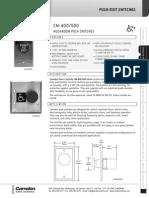 Camden CM-500 Data Sheet