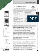 Camden CM-4000-3 Data Sheet