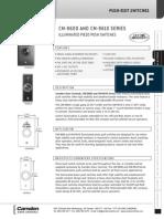Camden CM-9600 Data Sheet