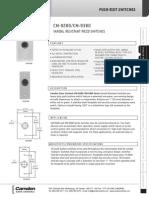 Camden CM-9280 Data Sheet