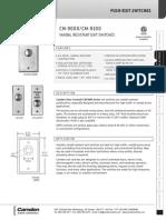 Camden CM-90803 Data Sheet