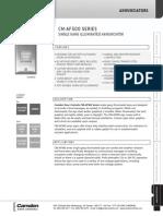 Camden CM-AF500 Data Sheet
