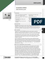 Camden CX-DA400 Data Sheet
