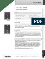 Camden CX-LED153 Data Sheet