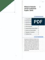 1 Methoden Des Fremdsprachunterrichts in Lerntheoretischer Perspektive