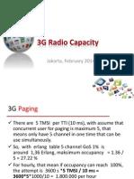3G Radio Capacity