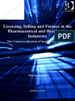Licensing, Selling and Finance in the Pharmaceutical and Healthcare Industries - Austin, Martin.pdf
