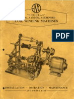 Avo Douglas Coil Winding Machine