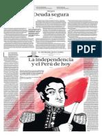 La Independencia y El Perú de Hoy