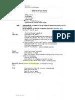 PVB Test Procedure