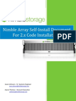 Nimble Self-Install Document