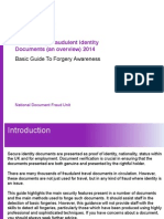 Recognising Fraudulent Identity Documents v3