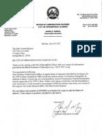 YWCA block interest letters