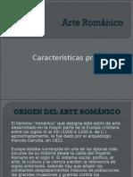 Arte Románico. Características.